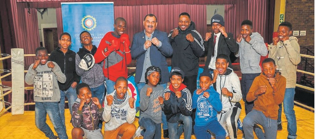 Young boxers took part in the second annual Hanover Park Boxing Tournament.