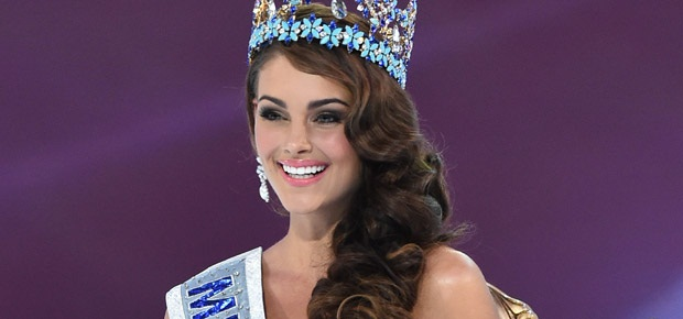Miss SA Rolene Strauss is crowned Miss World 2014. (AFP)