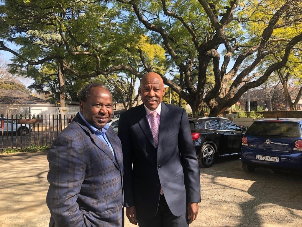 Finance Minister Tito Mboweni and Reserve Bank governor Lesetja Kganyago displayed a united front on Thursday.