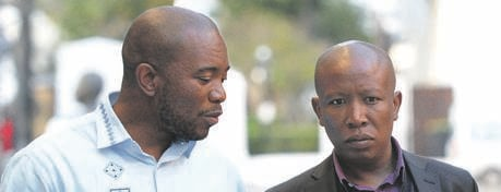 DA leader Mmusi Maimane and EFF president Julius Malema. Picture: Gallo Images