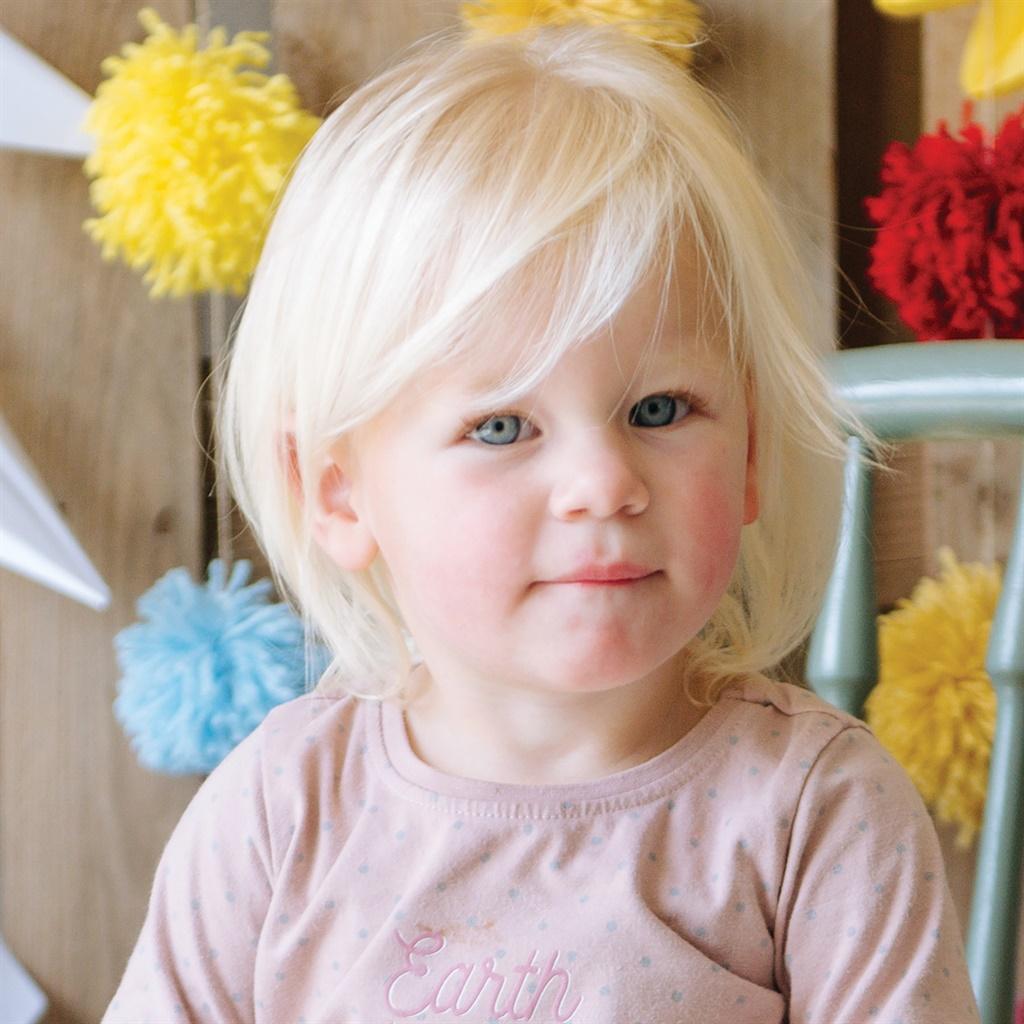 Francis Zandberg (2 jaar oud) van Villiersdorp, We