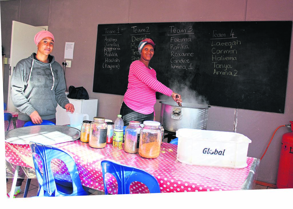 Two of the 21 beneficiaries, Monique Corker from Welcome Estate and Anthea Lambert from Mitchell's Plain. PHOTO: Nomzamo Yuku
