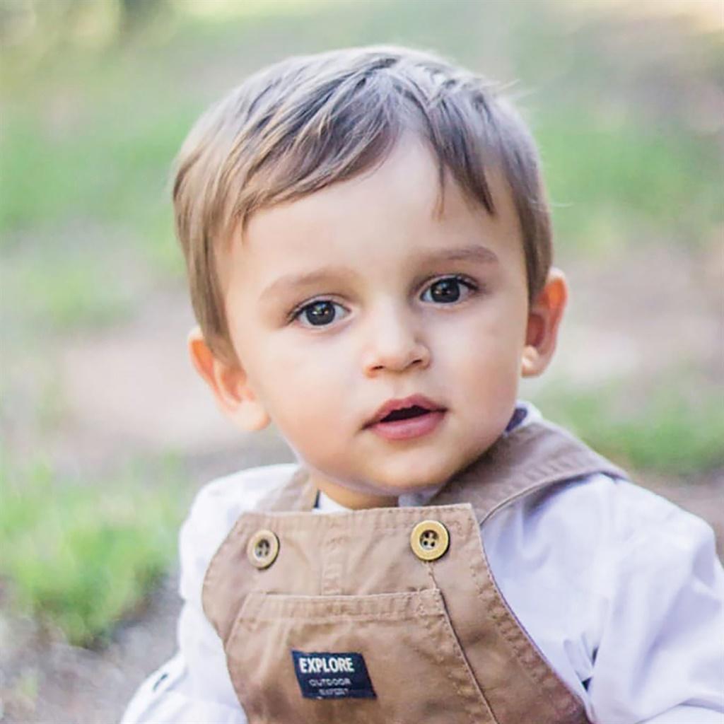 Shaun Retief (15 maande) van Secunda, Mpumalanga.