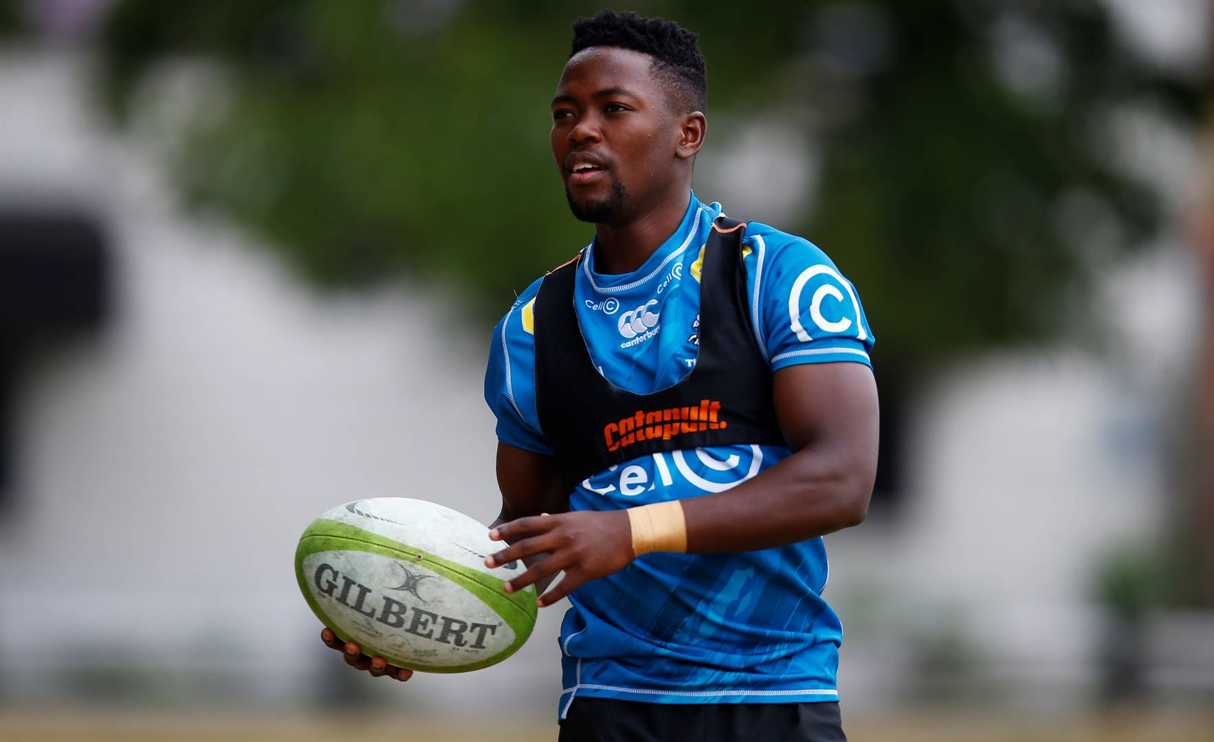 Sanele Nohamba was a promising cricketer in school until an injury forced him to switch sporting codes. Through his performances, he has shown huge potential as a future Springbok. Picture: Gallo Images