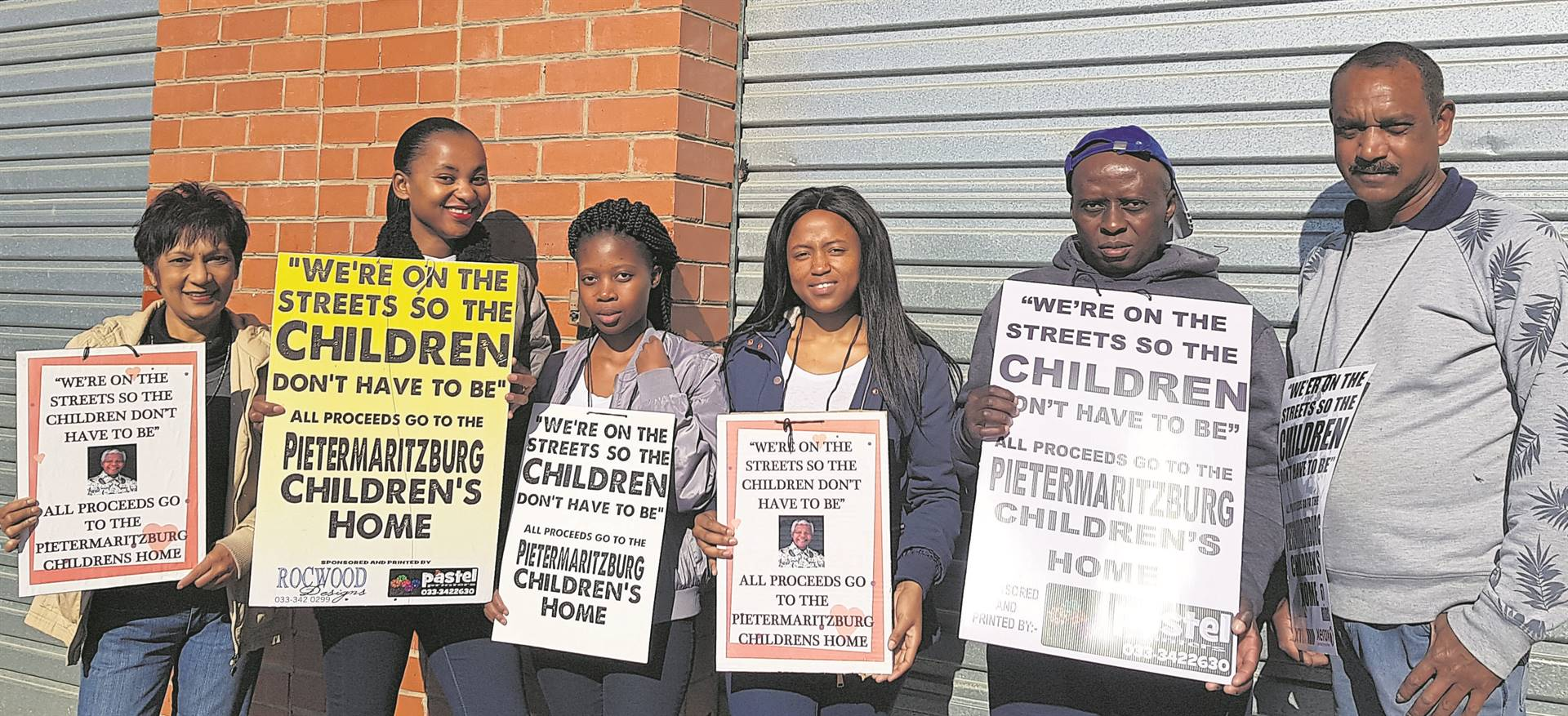 The Pietermaritzburg Children's Home will hold their annual Mandela Day street collection drive on July 18. They will be running a morning and lunchtime drive and invite any interested companies/individuals to contact them should they like to participate. Join them to ensure your 67 minutes are well-spent. For more information e-mail pr@pch.org.za or contact Sine at 033 387 4004. An appeal is made to the public to support the sincere volunteers on the roads on the morning.Showing their support for the initiative is (from left) Sheena Ramdial, Sinethemba Mzobe, Thande Mavundla, Msomi Zandile­, Michael Madlala, and Mervyn Naidoo. PHOTO: byrone athman