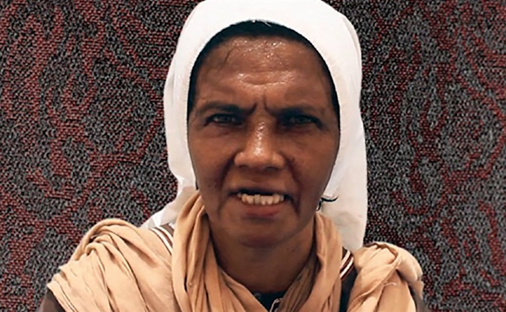 Colombian nun Gloria Cecilia Narvaez Argoti, one of the six hostages that was held by Al-Qaeda's Mali branch after being kidnapped in 2017.