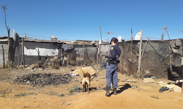 Police clamped on illegal miners in Matholeville,