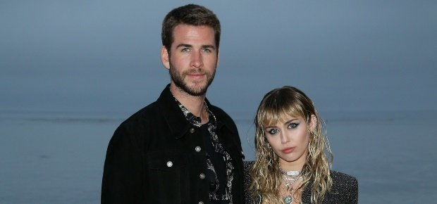Miley Cyrus and Liam Hemsworth.(PHOTO: Getty/Gallo Images)