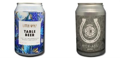 beer can packaging design
