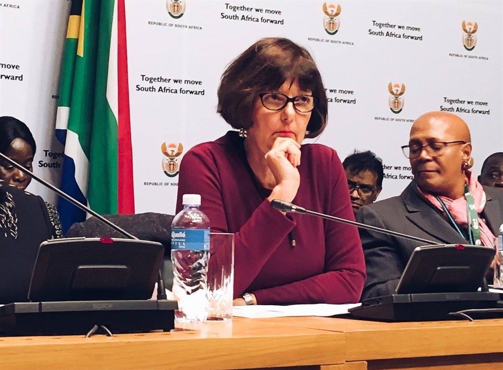 Minister of Environment, Forestry and Fisheries Barbara Creecy. (Jan Gerber/ News24)