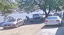 WATCH: Joburg mom fights off robber outside child's school