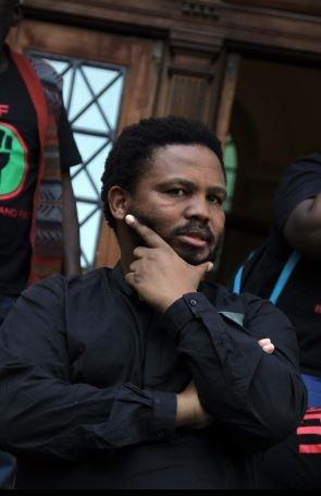 BLF leader Andile Mngxitama. (Lindile Mbontsi)