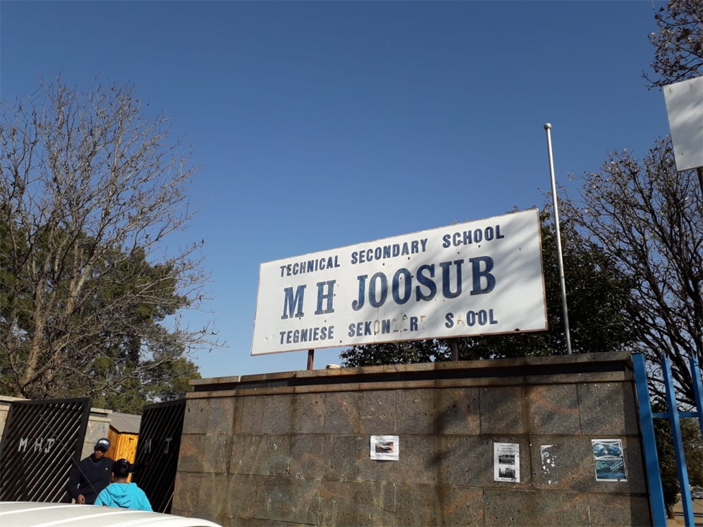Two pupils were shot and injured outside M.H Joosub Secondary School in Lenasia.