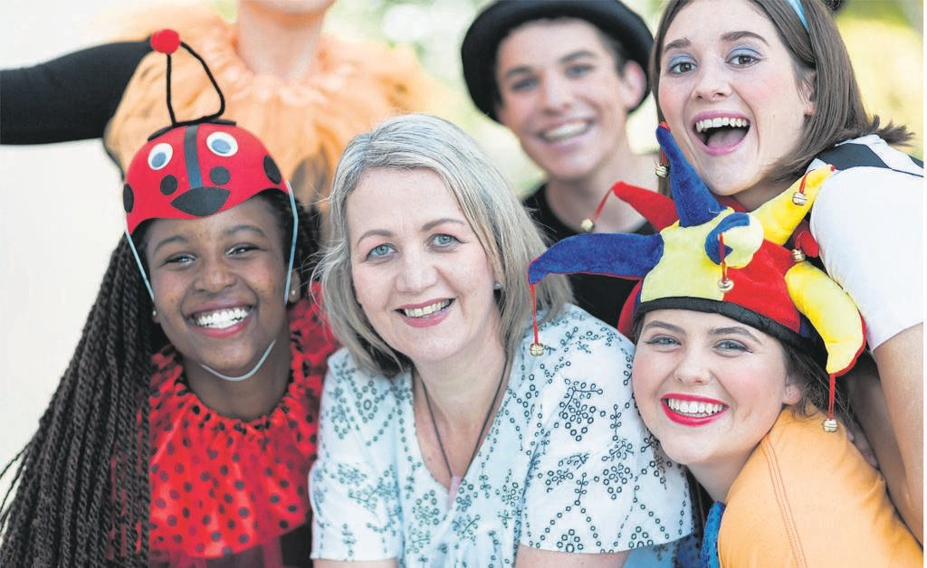Woodridge College will present Alice Through the Looking Glass, a theatrical production, at the Woodridge College Hall from July 26 to 27. Pupils Michelle Nduta, Caren Bestbier Director), Luke Erasmus, Olivia Cockcroft and Alexa Epler-Brandenburg are all set to take to the stage.                                 Photo:SUPPLIED