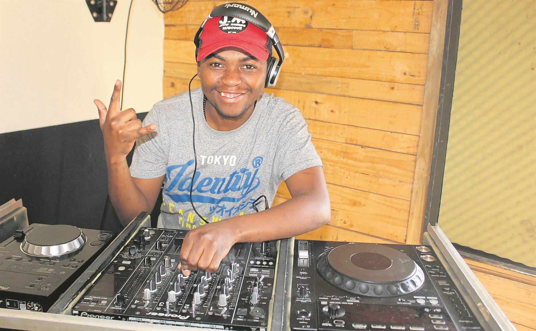Makalang 'Jive Maweekend' Matlakengmqong from Nomzamo is making waves in the music industry with his song titled Umnqongo.PHOTO: VELANI LUDIDI