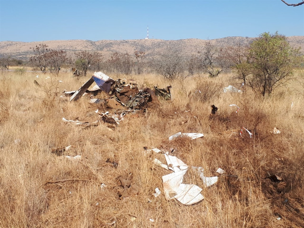 Two people have been killed in a plane clash near Haartbeespoort Dam. (Supplied)