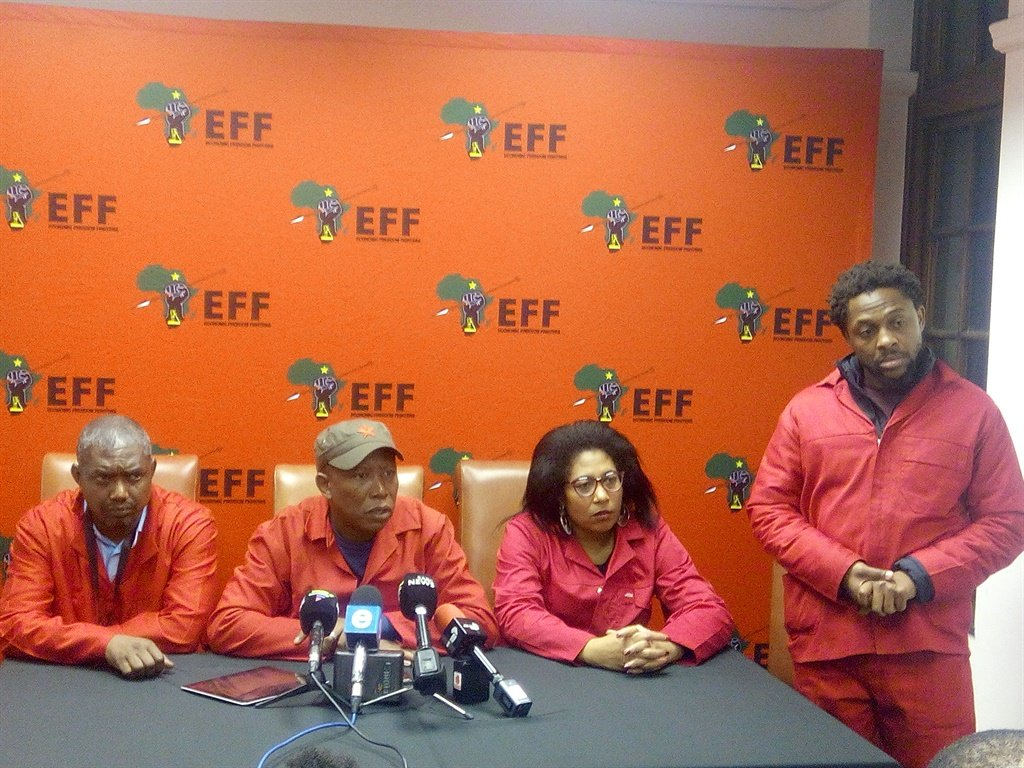 The EFF has won the  case brought against it by the South African National Editors Forum in the Equality Court. (Ethan Van Diemen, News24, file)