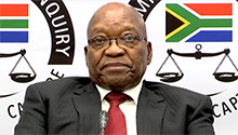WATCH LIVE: Zuma to continue testifying at state capture inquiry