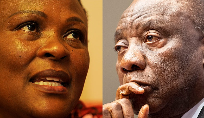 President Cyril Ramaphosa has responded to Public Protector Busisiwe Mkhwebane's report into the R500 000 Bosasa donation to his ANC presidential campaign. (Gallo)