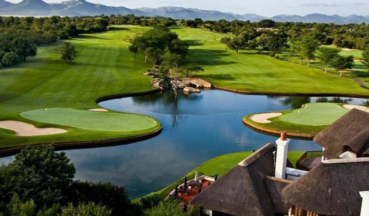 Leopard Creek country golf estate in Mpumalanga