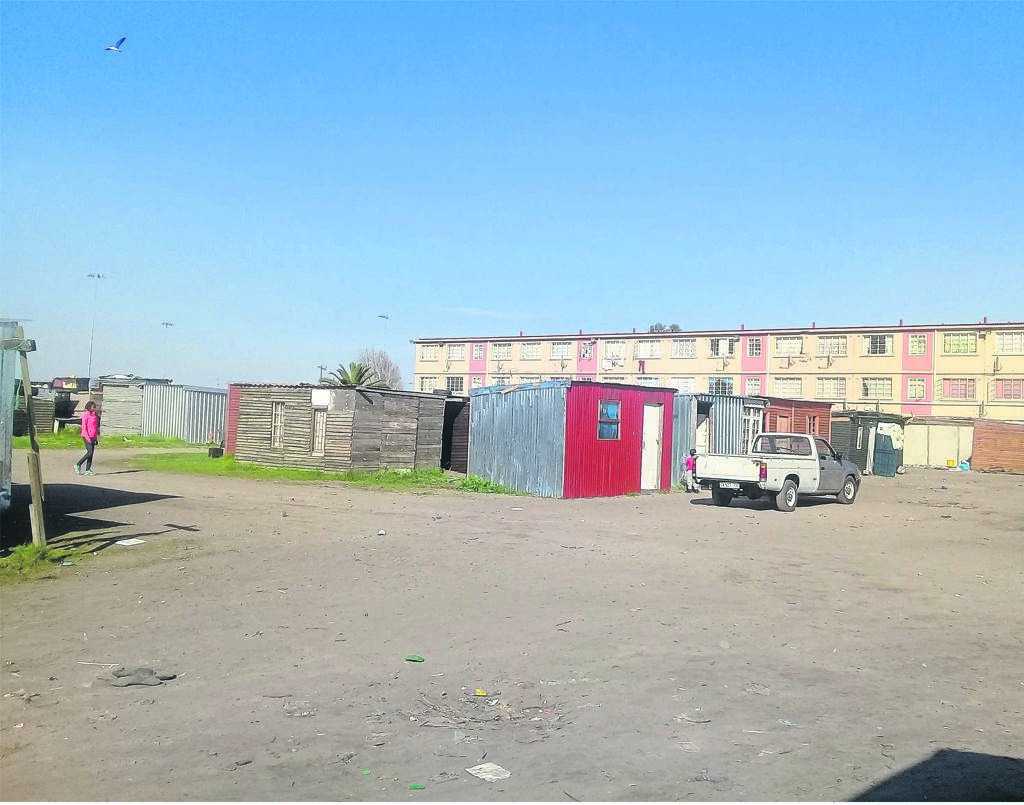Cathkin informal settlement families are opposing an eviction case in court.PHOTO: Nomzamo Yuku