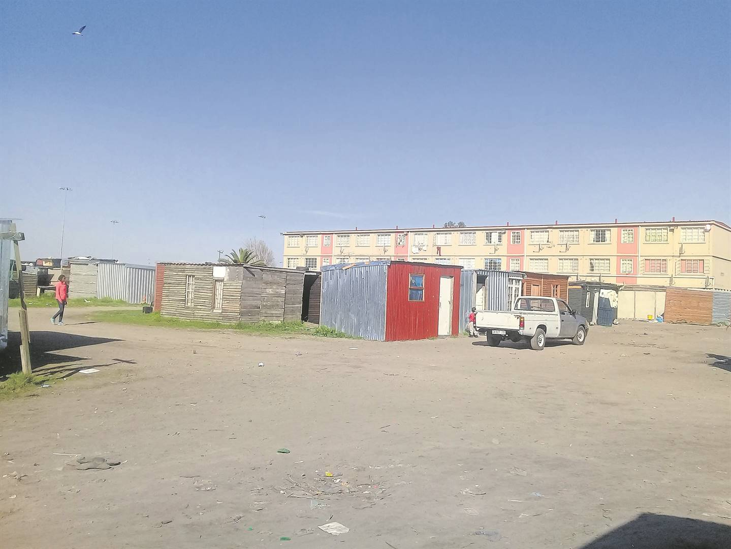 Could the 120 families living at Cathkin Squatter Camp be evicted? They are opposing an eviction case in court.PHOTO: Nomzamo Yuku