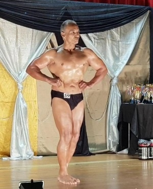 PICS: Meet Mr Muscles - a 70-year-old bodybuilder from Cape Town