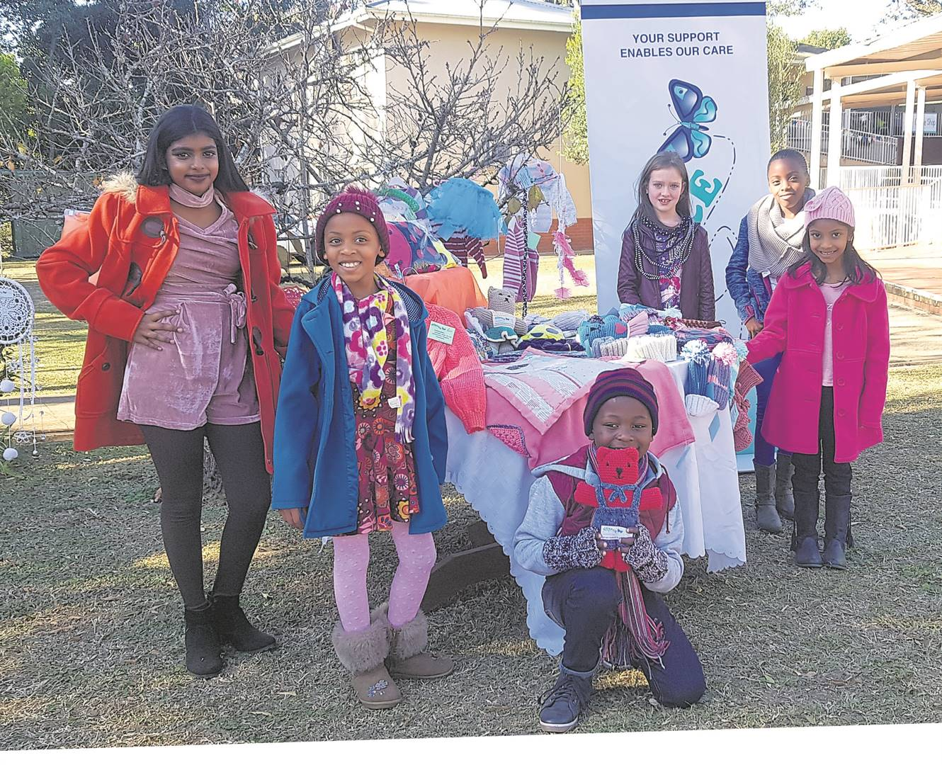 The Msunduzi Hospice Association will be hosting their annual Winter Fair on July 27 from 8 am to 1 pm. Various activities will be available for the enjoyment of children including a kids corner with fun and games, face painting, a jumping castle, a variety of stalls with handmade crafts on sale, among other things. Entry to the fair is R5 per person. For any queries please contact Tanya Roux at 033 344 1560 or 082 699 9105. Showing their support for the Winter Fair are Irene's Models pupils (from left) Diya Ramchander, Andiswa Phewa, Sonwabile Jili, Prisha Padayachee, Noluthando Phewa, and Julie-Anna Sparrow. PHOTO: byrone athman