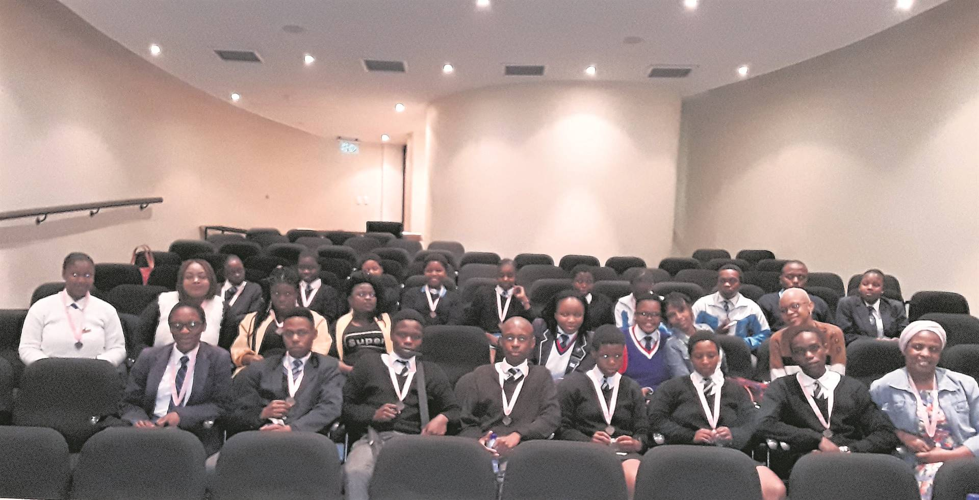 Some of the participating pupils. PHOTO: supplied