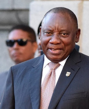 South African President Cyril Ramaphosa (NASIEF MANIE/AFP/Getty Images)