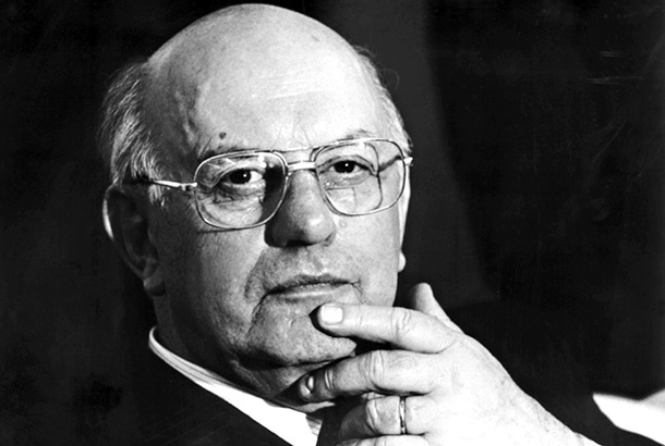 PW Botha, former president of South Africa during the apartheid years.