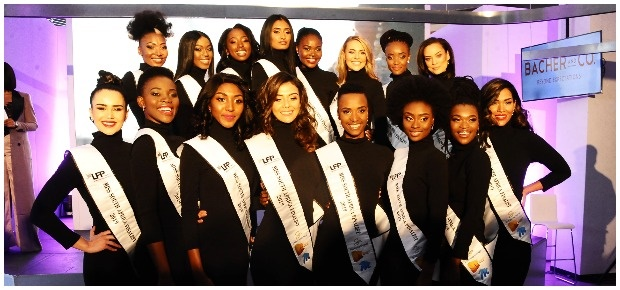 Miss SA top 16 contestants. (Photo: Getty Images/G