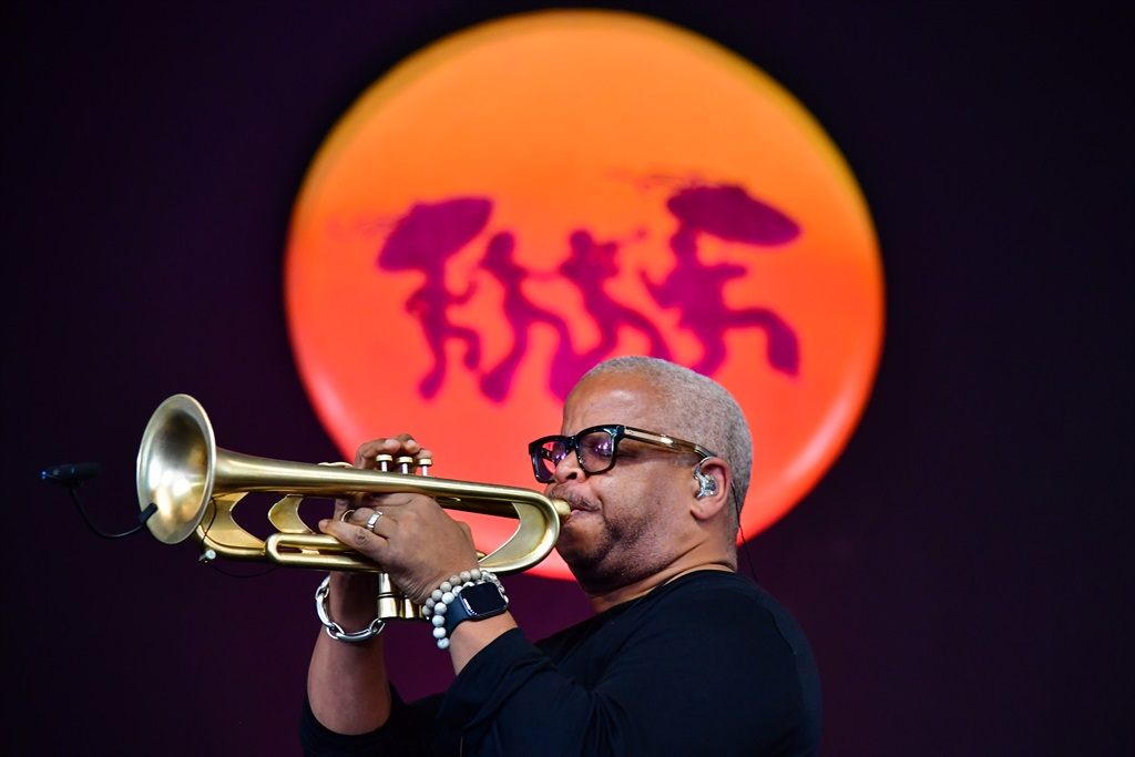 Terence Blanchard performs during the 2019 New Orleans Jazz & Heritage Festival 50th Anniversary at Fair Grounds Race Course on April 26, 2019 in New Orleans, Louisiana. (Photo by Erika Goldring/Getty Images)