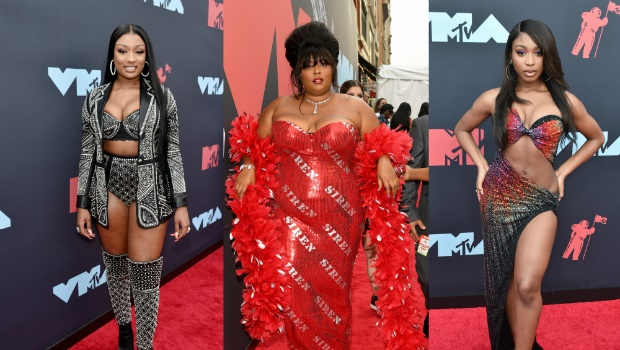 Megan Thee Stallion, Lizzo, Normani attend the 2019 MTV Video Music Awards