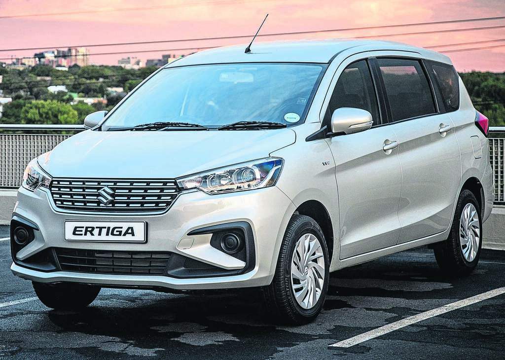 The new second-generation Suzuki Ertiga has had a bit of a nip and tuck. Changes in the front include new headlights, a new grille and lower air intake and raised bonnet.    photo: Supplied
