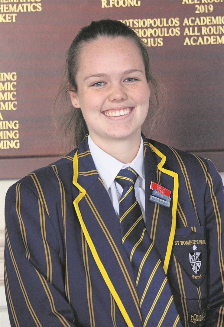 Caitlyn Venter of St Dominic's Priory School came eighth in this year's National English Olympiad. Of the 5 700 candidates who wrote the paper this year, Venter was the only candidate from the Eastern Cape in the top 15. As part of her prize, Venter attended the 2019 National Schools Festival in Grahamstown (Makhanda) from June 25-30, courtesy of the English Olympiad. In addition, she also won a cash prize, along with a free tuition scholarship for her first year of study at Rhodes University.     photo:SUPPLIED
