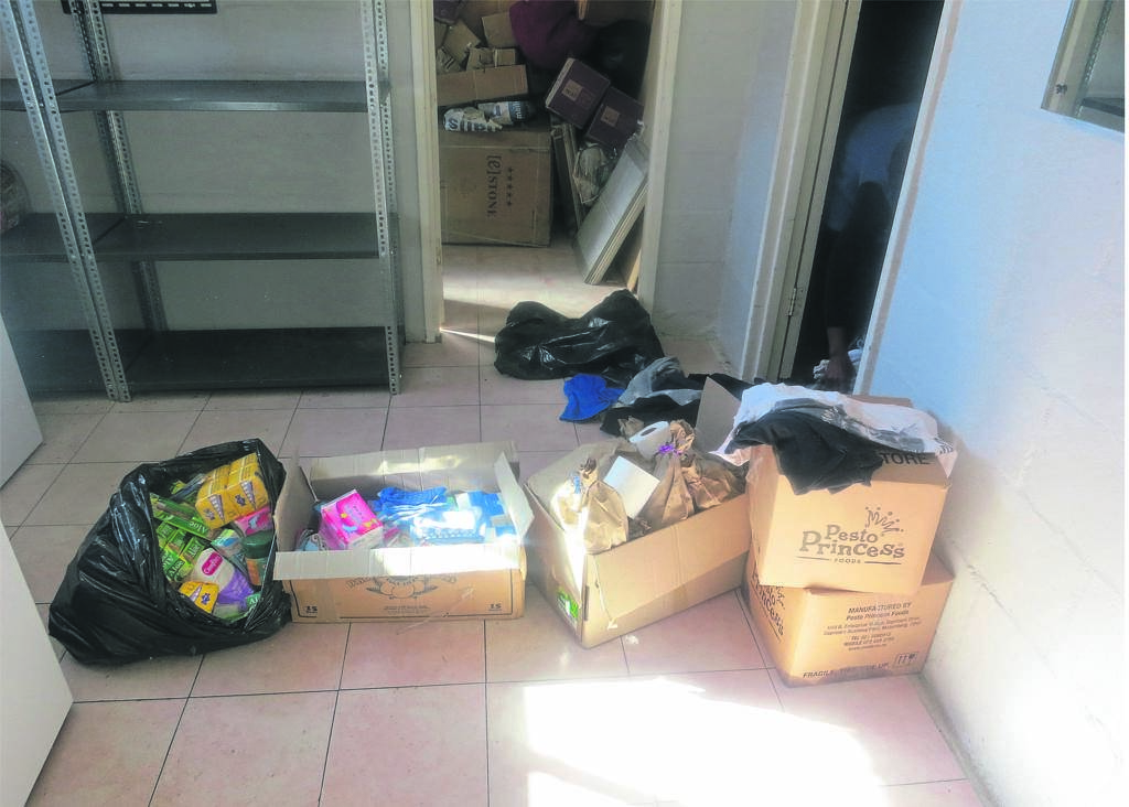 Some of the items that were donated.PHOTO: SIPHESIHLE NOTWABAZA