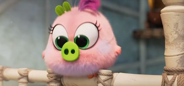 A scene in 'Angry Birds 2.'