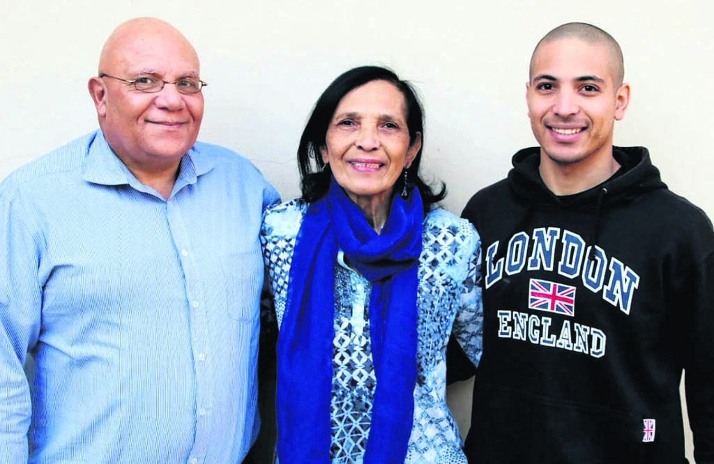 =Reverend Allan Houlie has been appointed as the new pastor at the Uitenhage Baptist Church. With him are his wife Pauline and son Jared Houlie.                                Photo:SUPPLIED