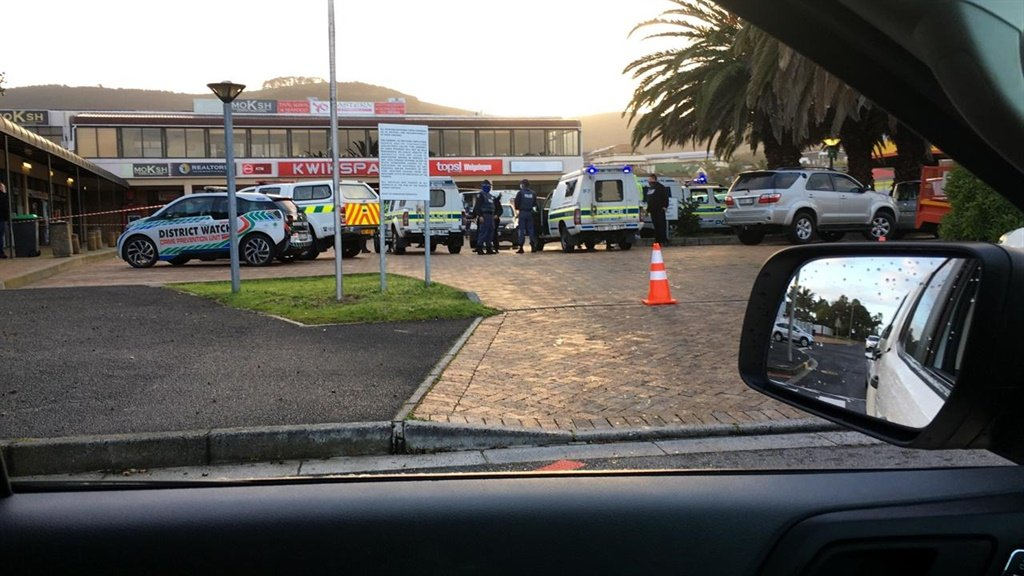 A cash-in-transit van smashed into a residential home in Welgelegen, Cape Town, after a wounded security guard tried to flee an ambush.