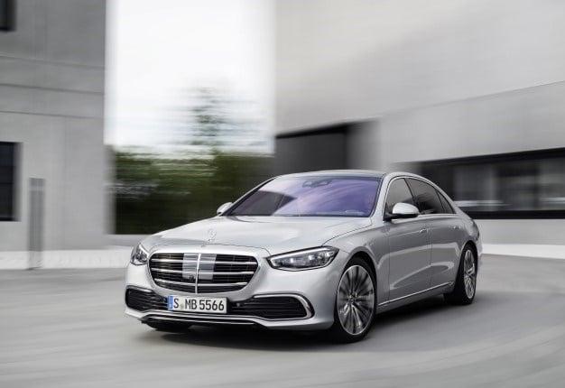 2021 Mercedes-Benz S-Class. Image: Newspress