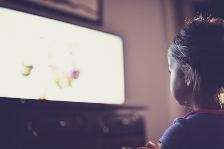 Toddlers can become addicted to screens in less than six months.