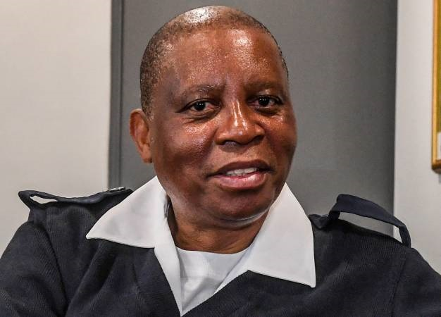 City of Johannesburg executive mayor Herman Mashaba is seen in Emergency Services uniform at his office. (Sydney Seshibedi, Galle Images, file)