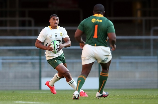 Damian Willemse had a poor day at the office