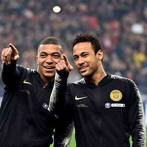 Kylian Mbappe and Neymar (Getty Images)