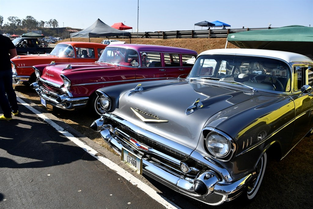 PRETORIA, SOUTH AFRICA - AUGUST 04: Cars in the Pa