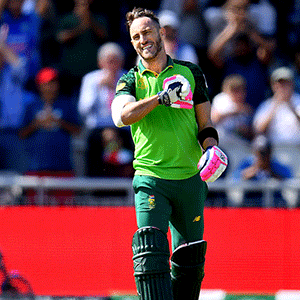 Selection chief: Faf still has ODI future, Rabada rested - Sport24