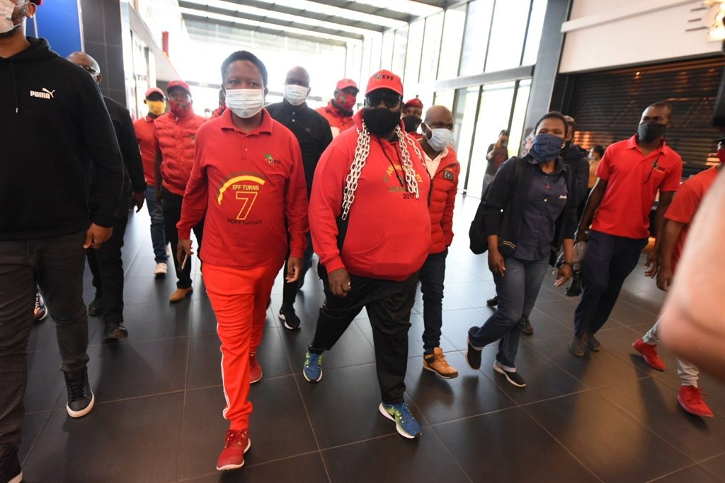 Julius Malema at Mall of the North.
