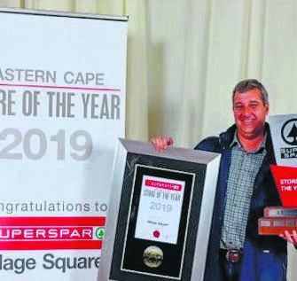 SuperSpar Village Square in St Francis Bay was named the SuperSpar of the Year in the Eastern Cape for 2019. SuperSpar Village Square owner, Richard Moolman, received the award.      Photo:SUPPLIED