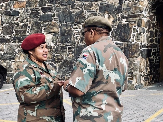 JUST IN | SANDF headscarf case: Charges withdrawn against Muslim major - News24
